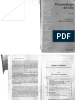 Psicopatologia Del Nino Ajuriaguerra