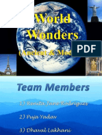 World Wonders!
