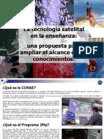 La Tecnologia Satelital en La Ensenanza