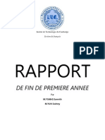 Rapport Fracais, french report for all user