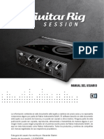 Guitar Rig Session IO Manual Spanish