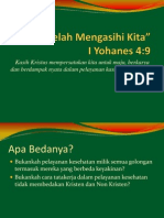 Kotbah Natal Pk3l 2012
