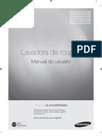 Lavadoura de Roupas SAMSUNG WD8854RJ-02696D-03