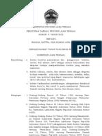 Perda No. 9 Ttg Bahasa Dan Aksara Jawa