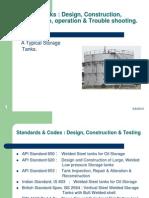 Presentation slides for Tank Construction and Maintenance.ppt