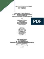 Hotelier Report