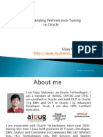 Understanding Performance Tuning in Oracle