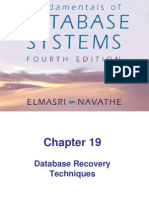Database Recovery Tech