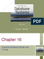 Database Efficiency and Tuning