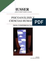 Althusser Louis Psicoanalisis y Ciencias Humanas