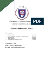 Final Project C++