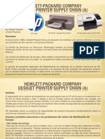 Hewlett-packard Company Deskjet Printer Supply Chain