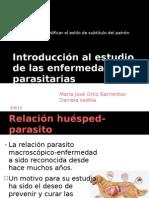 Introducción al estudio de las enfermedades parasitarias