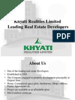 Real Estate Company Presentation