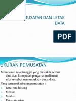 ukuran pemusatan data.ppt