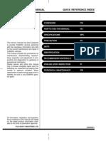Subaru Forester 2001 Service factory Manual