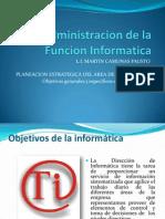 Objetivos de La Informatica
