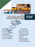 Budget Proposal