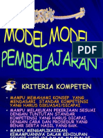 Model Model Pembelajaran Baru