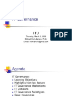 5 IT Governance