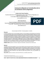 Agrotóxicos Condiciones de utilización en la horticultura de la Provincia de Buenos Aires (Argentina)