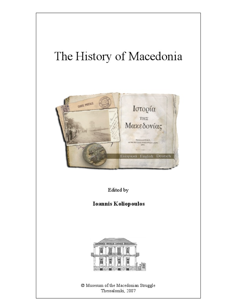 The history of Macedonia (edited by Ioannis Koliopoulos ... 6aa00537e57