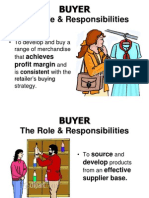 BUYER- Role and Responsibilities
