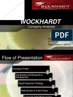 Wockhardt Final PPT