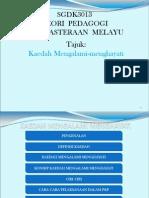 89979597 Pwerpoint Kaedah Mengalami Menghayati