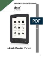 TrekStor eBook Reader Pyrus Manual V1-10 ES 2012-04-26