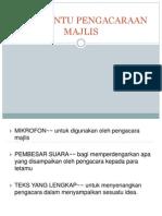 Alat Bantu Pengacaraan Majlis