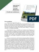 Extraits de presse  livre conférences Bruno Parmentier