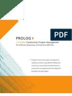 Brochure Prolog 1012