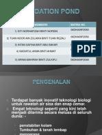 OXIDATION POND presentation