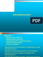 Acid Base Balance physiology