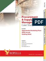 Ropella Case Study Procurement Supply Chain Management