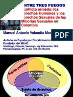 Entre Tres Fuegos Derechos Lgbt Colombia