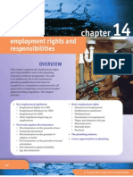 Employments Rights and Responsibility