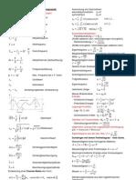 Formelsammlung Maschinendynamik