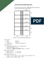 Sap2000-Portal Dengan Dinding Geser