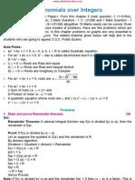 03-PolynomialsOverIntegers