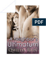 Qwillia Rain - A Neighbor's Ultimatum (PDF)