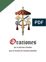 Oraciones por el Cónclave para elegir al nuevo Papa