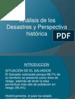 Analisis de Los Desastres y Perspectiva Historica