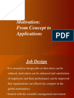 Motivation From Concepts to Applications