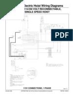 Budgit BEHC Wiring Diagram
