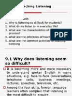 Unit 9 Teaching Listening
