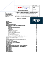 Project Standards and Specifications Pig Catcher Package Rev01