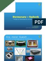 Radionik / Bioresonanz