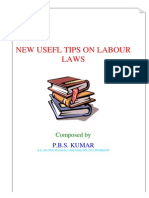 New Useful Tips on Labour Laws[Adobe]